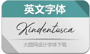Kindentosca(英文字体)