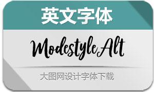 ModestyleAlt(英文字体)