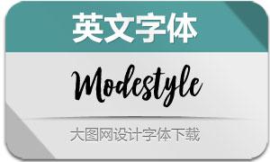 Modestyle(英文字体)