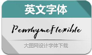 PenrhymeFlexible(英文字体)