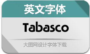Tabasco系列三款英文字体