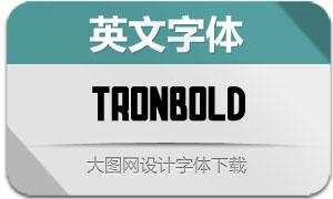 TronBold(英文字体)