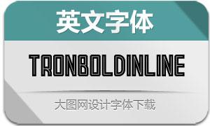 TronBoldInline(英文字体)