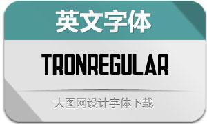 TronRegular(英文字体)