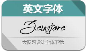 Zeinstore(英文字体)