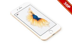 六款配色的iPhone7多视角贴图模板