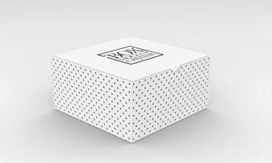 包装好的外包装盒应用效果贴图模板