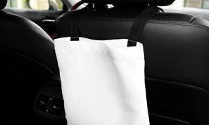 汽车座椅后的收纳袋图案贴图源文件
