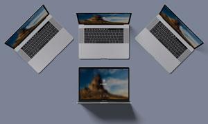 15寸MacBookPro原型贴图分层模板