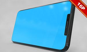多角度展示的iPhoneX贴图分层模板