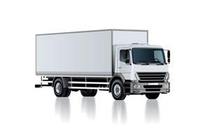 厢式货车车身贴图效果设计分层素材