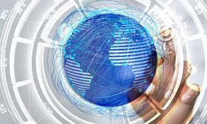 全球互联商务科技创意设计高清图片