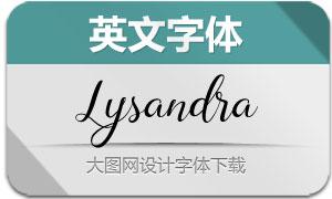 Lysandra(英文字体)