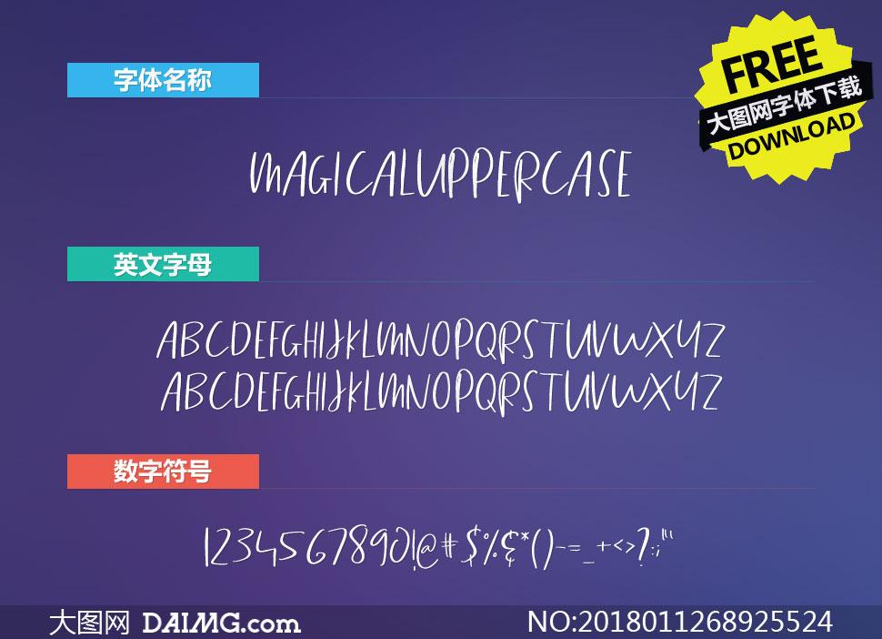 MagicalUppercase(英文字体)