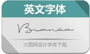 Bianca(英文字体)