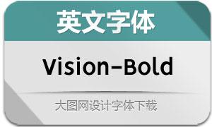 Vision-Bold(英文字体)
