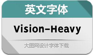Vision-Heavy(英文字体)