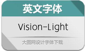 Vision-Light(英文字体)