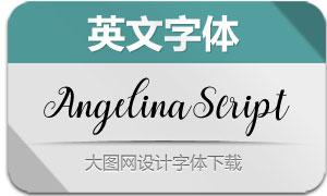AngelinaScript(英文字体)