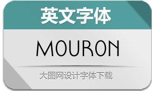 Mouron-Regular(英文字体)
