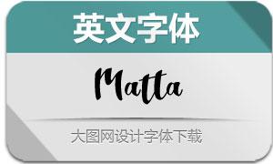 Matta(英文字体)