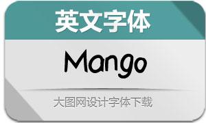 Mango(英文字体)