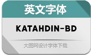 Katahdin-Bold(英文字体)