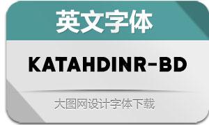 KatahdinRough-Bold(英文字体)