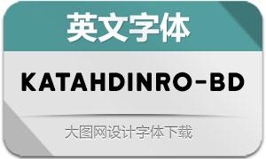 KatahdinRound-Bold(英文字体)