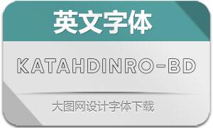 KatahdinRoundOutline-Bold(字体)