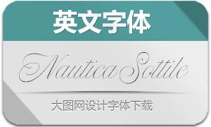 NauticaSottile(英文字体)