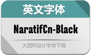 NaratifCond-Black(英文字体)