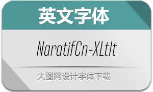 NaratifCond-ExtLtIt(英文字体)