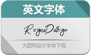 RogueDesign(英文字体)