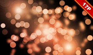 梦幻效果灯光散景装饰元素高清图片