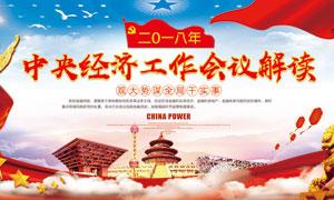 中央经济工作会议展板PSD源文件