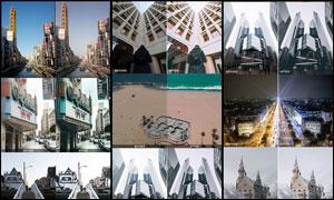 专业级建筑照片后期调色LR预设