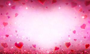 浪漫梦幻的情人节背景创意高清图片