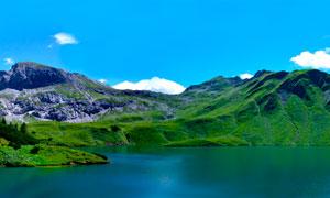 阿尔卑斯山全景摄影图片