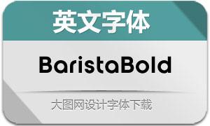 BaristaBold(英文字体)