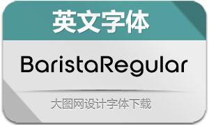 BaristaRegular(英文字体)
