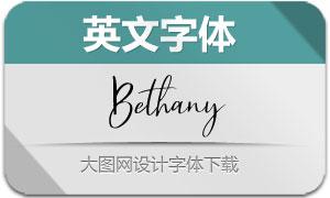 BethanyScript(英文字体)