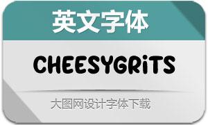 CheesyGrits(英文字体)