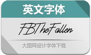 FBTheFallenRegular(英文字体)