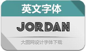 Jordan系列六款英文字体