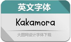 Kakamora(英文字体)