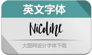 Nicoline(英文字体)