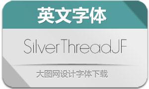 SilverThreadJF(英文字体)