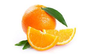 爽甜可口新鲜橙子特写摄影高清图片
