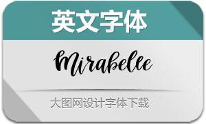Mirabelle(英文字体)